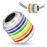 Pendentif anneau 01 - Gay pride
