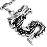 Pendentif gothique 07 - Dragon