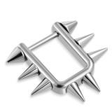 Bouclier de téton 34 - Rectangulaire pointes