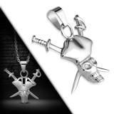 Pendentif gothique 20 - Pirate avec sabres