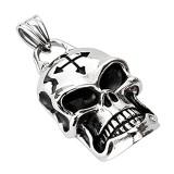 Pendentif gothique 42 - Crâne