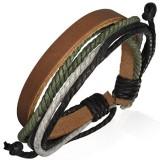Bracelet en cuir 030