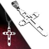 Pendentif croix 009 - Creuse