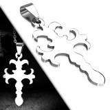 Pendentif croix 026 - Médiévale simple