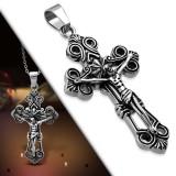 Pendentif croix 056 - Deluxe jesus