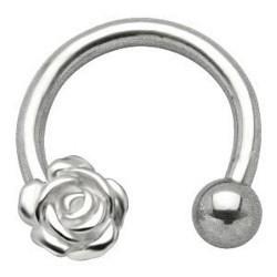 Piercing micro-circulaire 48 - Fleur