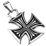 Pendentif croix 139 - Croix de Malte