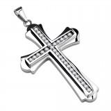Pendentif croix 112 - Centre multistrass