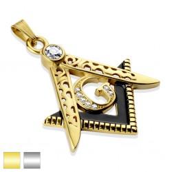 Pendentif acier 83 - Signe Masonic