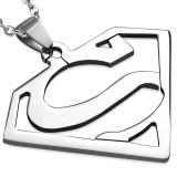 Pendentif acier 92 - Superman