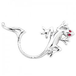 Faux-piercing pour téton 01 - Salamandre