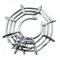 Faux-piercing pour téton 04 - Toile d'araignée