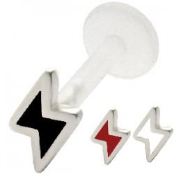 Piercing micro-labret PTFE 27 - éclair