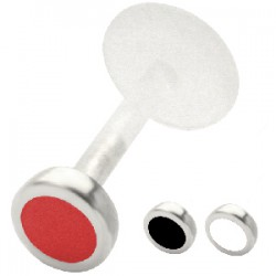 Piercing micro-labret PTFE 30 - Rond