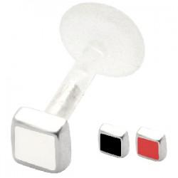 Piercing micro-labret PTFE 32 - Carré