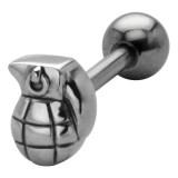 Piercing langue 75 - Grenade