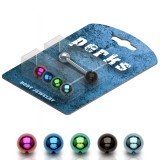 Pack de piercings langues 07 - Boules PVD