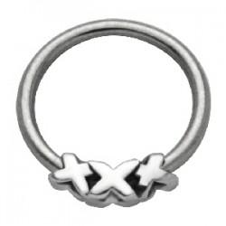 Piercing anneau 1,6mm 39 - XXX
