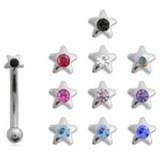 Piercing arcade 60 - étoile strass