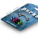 Pack de piercings arcades 03 - Boules PVD