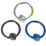 Piercing anneau 1,6mm 79 - PVD dé