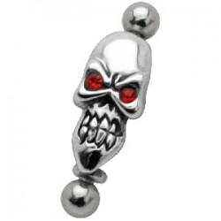 Piercing arcade micro-barbell 36 - Gothique