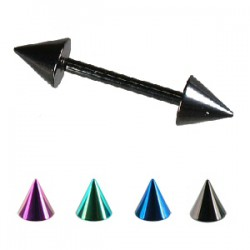 Piercing micro-barbell 06 - PVD pointes
