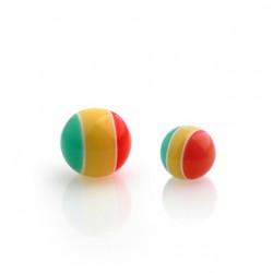 Boule UV rasta 1,6mm