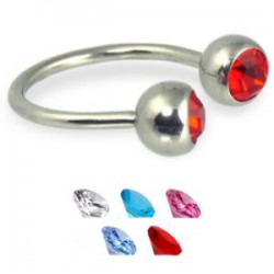 Piercing micro-circulaire 33 - Strass