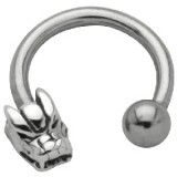 Piercing micro-circulaire 38 - Dragon