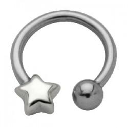 Piercing micro-circulaire 43 - étoile