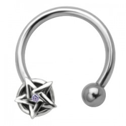 Piercing micro-circulaire 46 - étoile