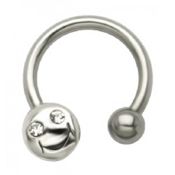 Piercing micro-circulaire 47 - Smiley