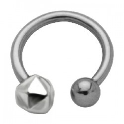 Piercing micro-circulaire 50 - Caillou