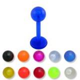 Piercing micro-labret PTFE 19 - Unicolor boule