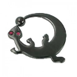 Piercing anneau PVD salamandre 03mm