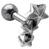 Piercing hélix 114 - étoiles