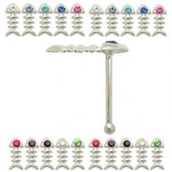 Piercing stud de nez 0.5mm 23 - Arrette