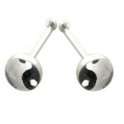 Piercing stud de nez 0.5mm 46 - Logo yin yang