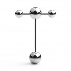 Piercing langue 02 - Original boules joueuses