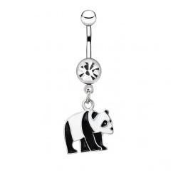 Piercing nombril panda qui marche (118)