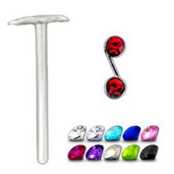 Piercing nez pliable 0.5mm 12 - S