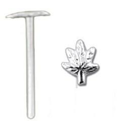 Piercing nez pliable 0.5mm 14 - Cannabis simple