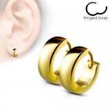 Anneaux oreilles acier 40 - Gold ip