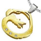 Pendentif animal 06 - Dragon Gold-IP