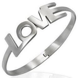 Bracelet jonc 04 - Love