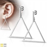 Clous en acier 02 - Triangle pendant