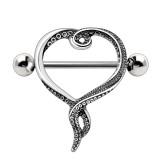 Piercing téton coeur tentacules (22)