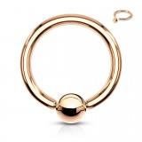 Piercing micro-bcr 92 - Anneau gold-ip rose