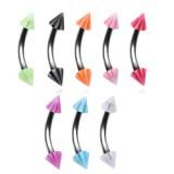 Piercing pour arcade acry 04 - UV beach-pointes